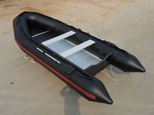 2.7/3.0/3.3/3.6/3.8/4.0m Length Zebec Inflatable Boat with Black Color, PVC Inflatable Boat, Cheap Inflatable Boat