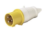 ip44 plug CE 16/32A 2P+E 110-130V Industrial plug POWER Factory Direct Hot selling Waterproof plug pointed tail
