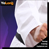 Taekwondo uniform/taekwondo jackets in 100% polyester fabric