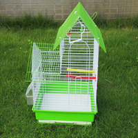 China alibaba Large foldable metal wire bird cage / bird house / bird nest