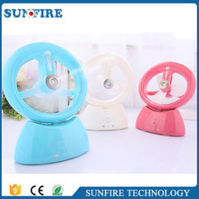 Factory direct sale portable USB charging mini water mist fan