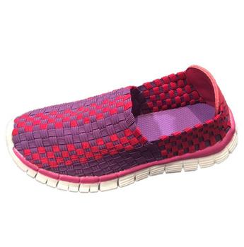 Kids Style Woven Sneaker (Little Kid/Big Kid)