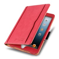 Luxury samrt leather PU smart magnetic tablet pc cover case stand for Apple Ipad MINI 2 3 4