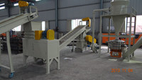 Circuit board recycling machine with dry separator