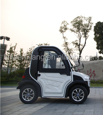 45km/h Two Seater Chinese Mini Electric Vehicles with CE