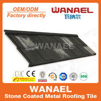 Shingle/Flat sand coating metal roof tile