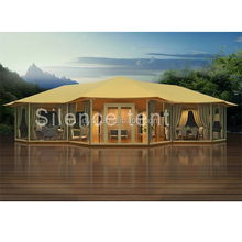 Big Luxury Safari Tent, Capming Best Choice 5+ People Tent