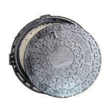 Top Quality Cheap Price OEM Cast Iron 610MM Round Manhole Cover