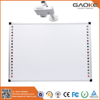 Teaching equipment cheap multi touch digital interactive whiteboard