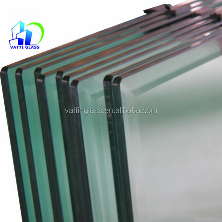 Outdoor swimming pool fence with top quality tempered laminated glass