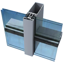 aluminum glass curtain wall system
