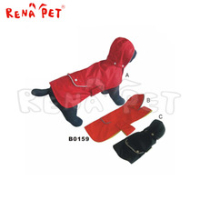 Polyester cheap top paw raincoat clothes of dog
