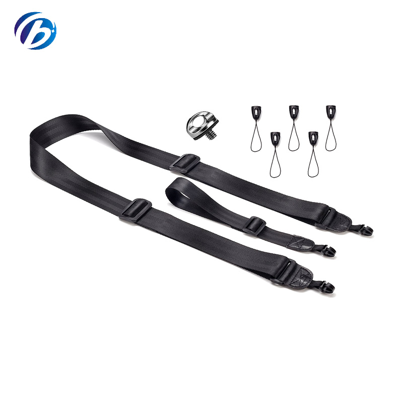 2018 Newest Custom Quick Release Black Detachable Camera Strap With Mounting Screw For DSLR Wholesale