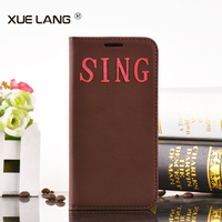 Simple Style Best Phone Cover For Samsung Galaxy Note II 2 N7100 Filp stand cases