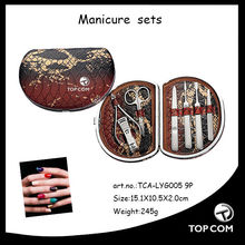 leather manicure tools