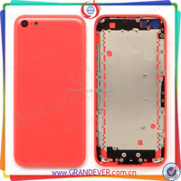 Crystal Hard PC cover for iPhone 5C case, Colorful Clear Back Cover Case for iPhone 5C back cover housing replacement