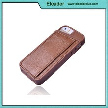 For iphone 5 5s leather cover with card holder