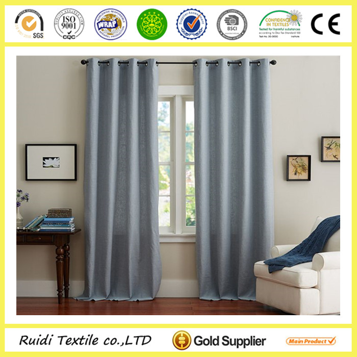 Ready Made Luxury Linen Curtain Drapes