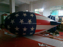 2016 logo printing advertising inflatable remote control blimp for sale