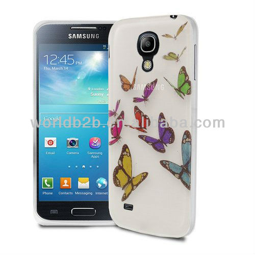 Nice Butterfly Design Hard Phone Case for Samsung Galaxy S4 Mini i9190