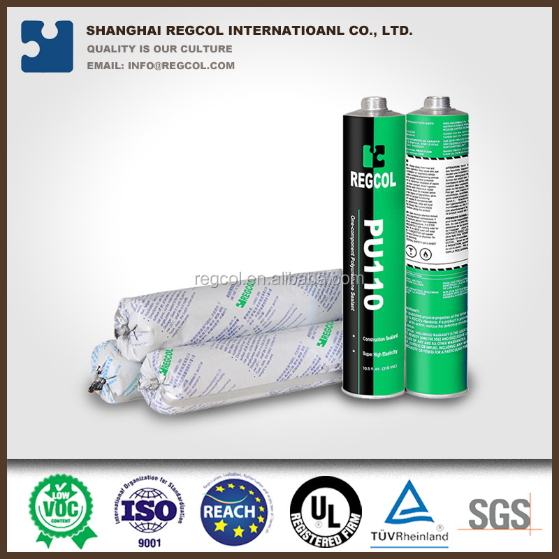 high modulus PU construction adhesive sealant for construction concrete joint