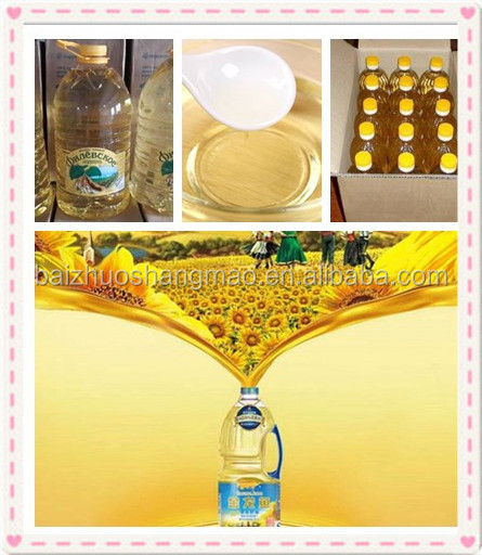 Cooking Use and Sunflower Oil Type 100% refined edible sunflower oil for sale