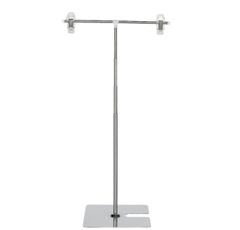 T Type Telescopic Adjusted Display Stand