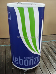 40L 50L 75L ice round can cooler for display soft drinks