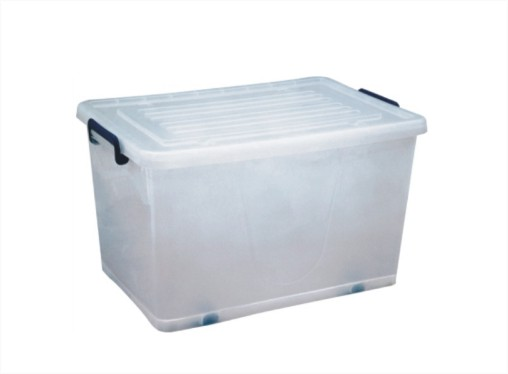 Plastic Storage box with wheels