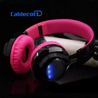 LCD Headband Over Ear Mp3 Player support SD TF Card Wireless Stereo Bluetooth Headphone Headset