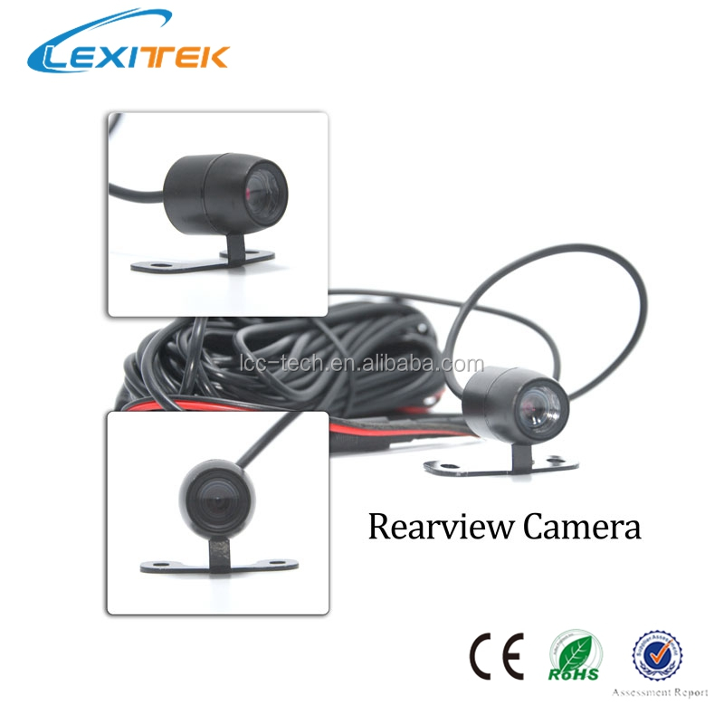 Lexitek D02 Car Rear View Mirror DVR Include Adjustable Front Camera Car Dash Camera F23