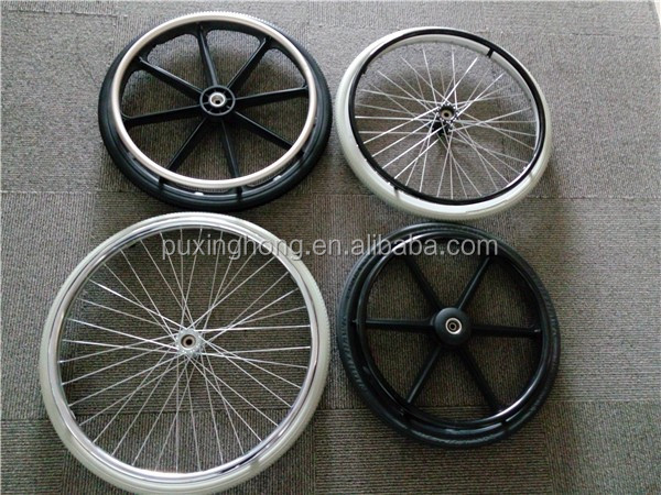 PU Solid Wheel Chair Tyre