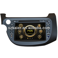 In dash car dvd player for NEW HONDA FIT/JAZZ with GPS,TV,Bluetooth,3G,ipod,PIP,Games,Dual Zone,Steering Wheel Control