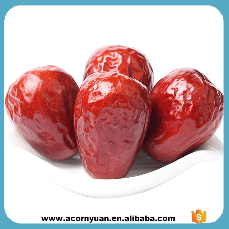 Chinese Snack Dried Red Fresh Jujube Fruit