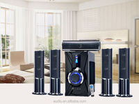 High end digital power amplifier home theater system