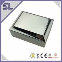 Newly design antique sterling silver snuff box recycled paper jewelry boxes horse craft gifts wholesale jewelry box