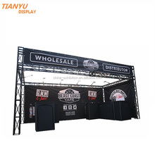 truss exhibition booth display for electronic cigarette