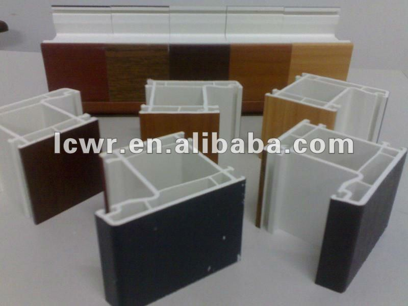 German Style PVC Profiles For Windows And Doors