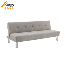 Modern design folding leather sofa bed,sleeping multi-function sofa bed