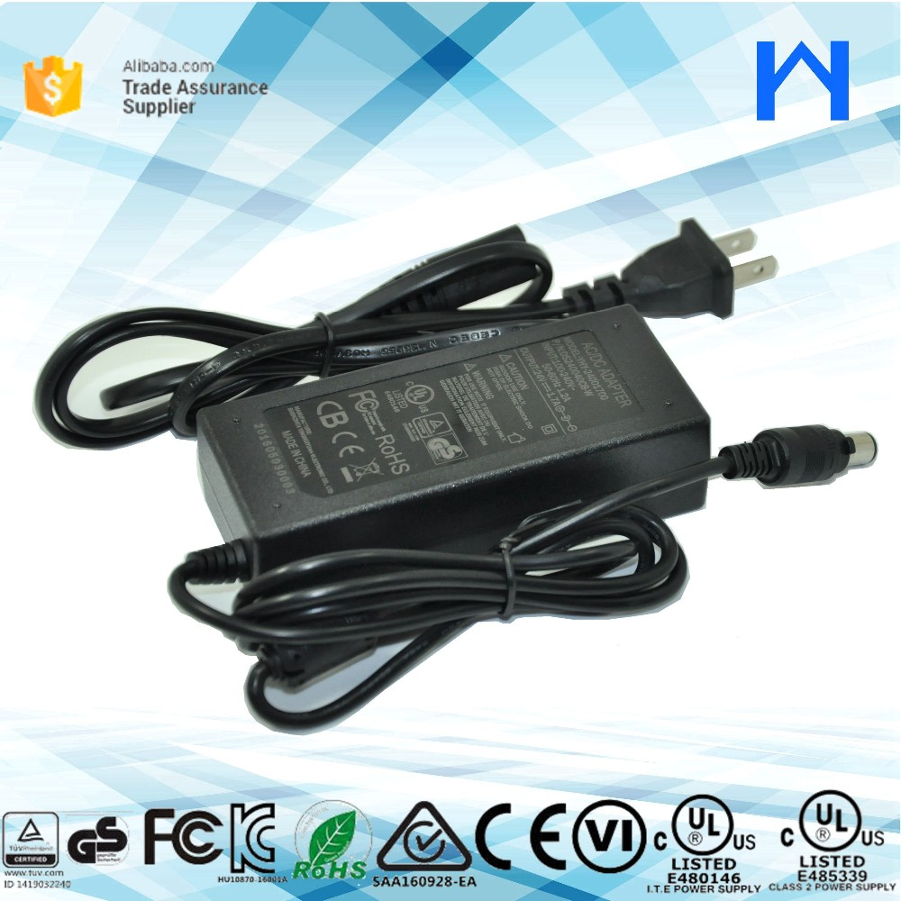 24V 1.7Amp power adapter 24V dc switching power supply for CCTV camera