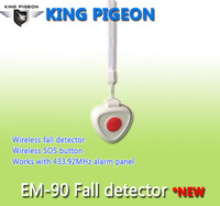 EM-90 ZigBee Necklace Panic Pendant with Fall Prevention for Elderly, Disabled, Children
