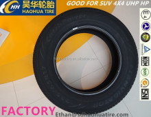 car tyre tire with complete tires size for PCR SUV 4X4 SPORT RACE car