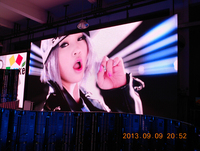 LED advertising xxx video full color led video wall