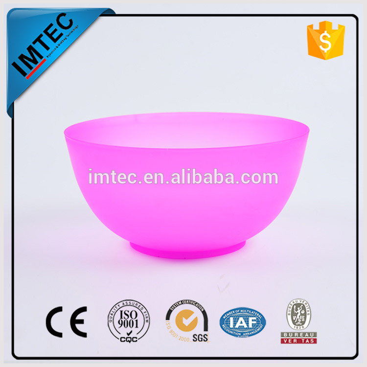 2016 IMTEC factory outlet solid plastic food singing bowl