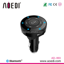 2015 New Fashion!Hot-style !wireless Aux usb bluetooth car kit with Handsfree car kit, wireless connection to phone AD-993