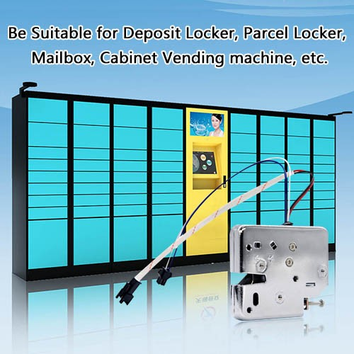 Intelligent storage locker control system module