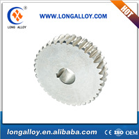 Customized zinc alloy Worm Gear and worm wheel for Metallurgical machinery