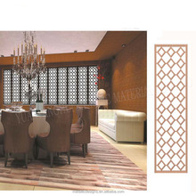 stainless steel restaurant perforated room divider
