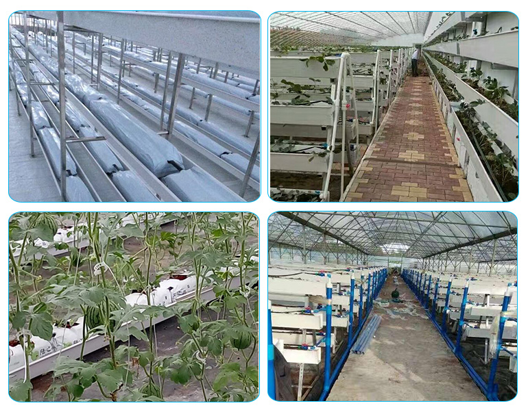 Chinese Newest Design Large plastic PVC plant grow tray gutter for Greenhouse systems