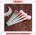 New Design Pink Soft Synthetic Hair Arylic Handle Professional Makeup Brush